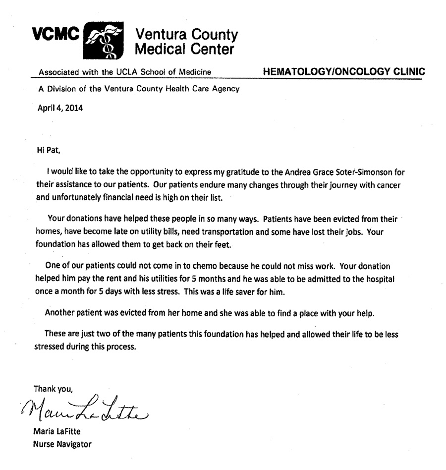 agss foundation receives letter of appreciation from vcmc agss vcmc
